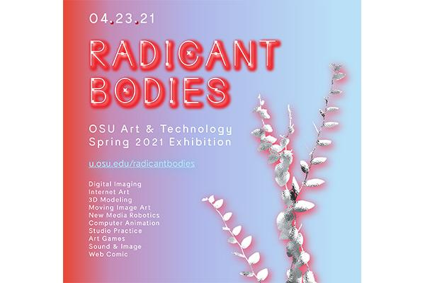 poster promoting Radicant Bodies exhibition