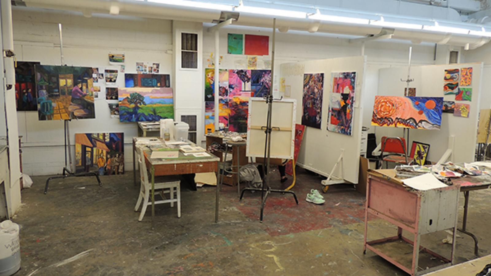 Painting studio and classroom